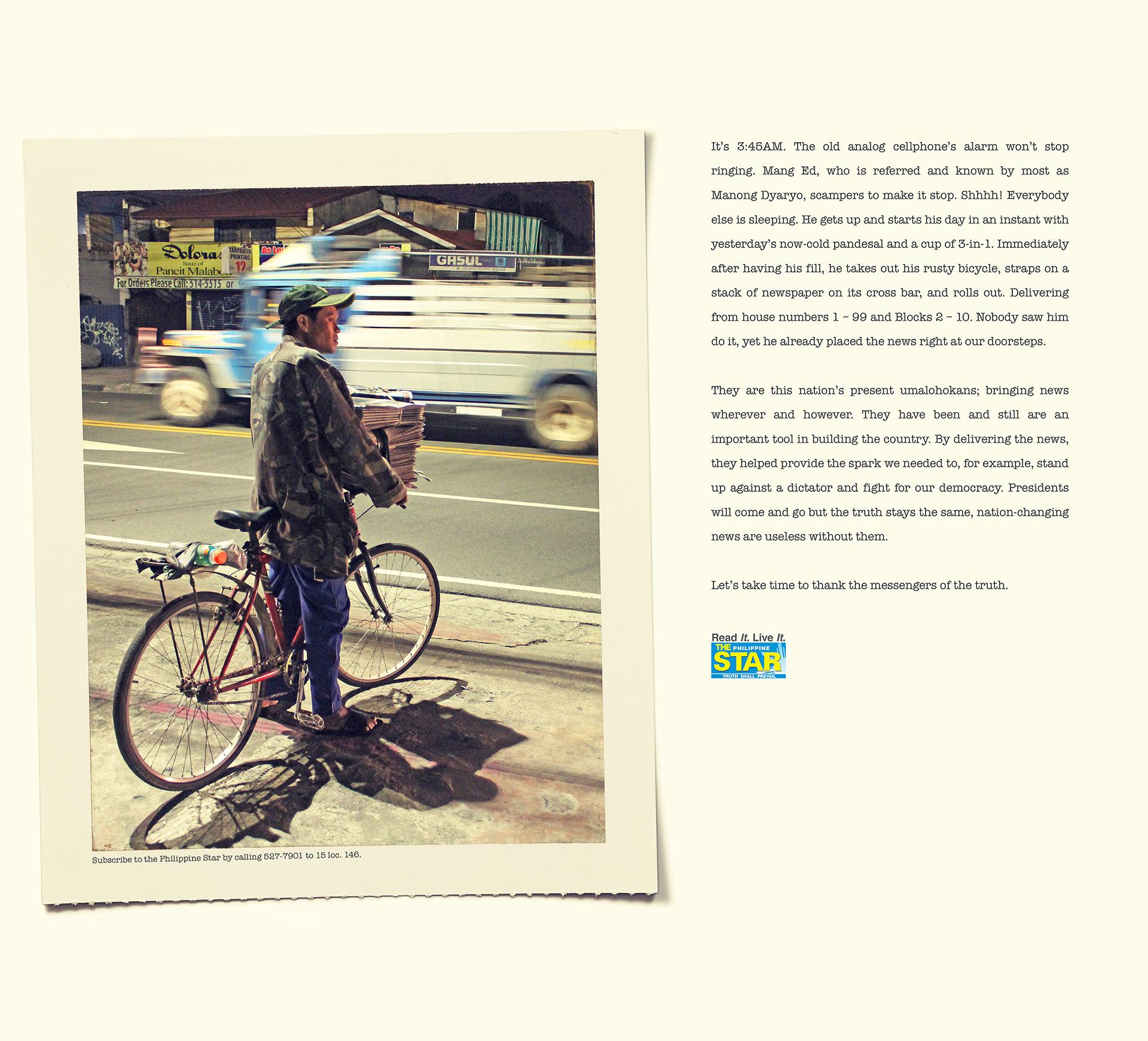 Newsboy - Bike
